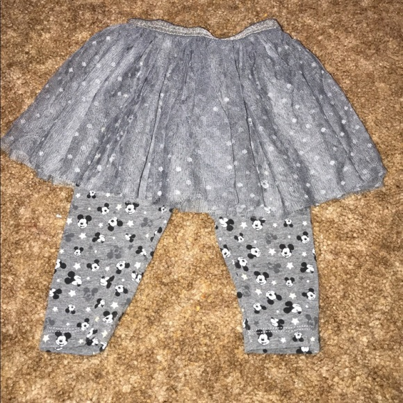 Disney Other - Minnie Mouse tutu with leggings